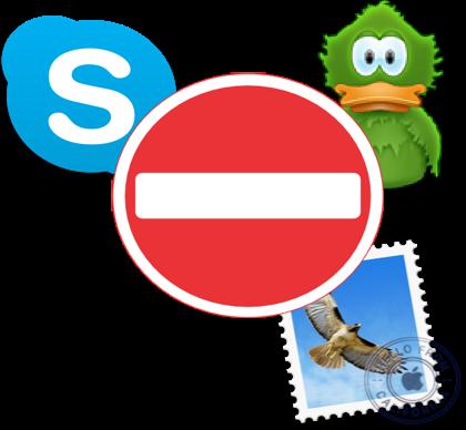 "UnDistracted Screensho: Enable ""Do not Disturb"" mode in Skype"