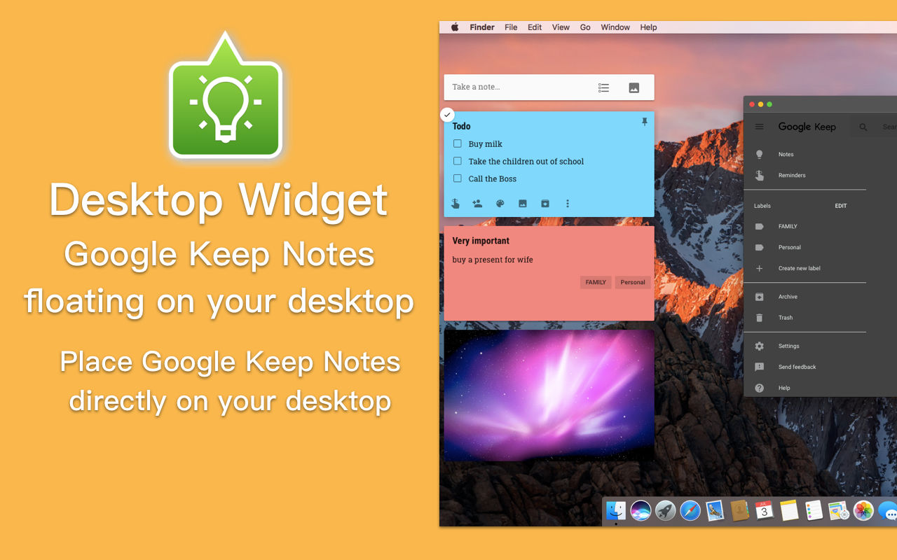 Miya Notes - Powerful Mac-Client for Google Keep (Launch Sale) Image