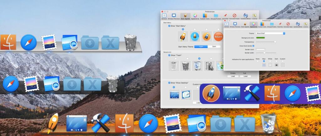 ActiveDock Screenshot: Finder Custom Icon, Dock Customisations, Custom icons